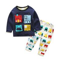 男童运动套装秋冬儿童两件套宝宝休闲套装