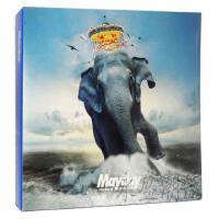 现货 五月天 / 步步自选作品辑 [巨象登陆版] 2CD 5卡贴 筒装海报