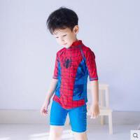 韩国儿童连体度假旅游泳衣可爱卡通男童小童中童游泳衣宝宝可礼品卡支付