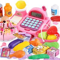 儿童收银机玩具女孩 宝宝3-6岁5过家家小超市收银台套装