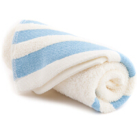 [当当自营] 三利 素缎纯棉毛巾两条装 三色可选