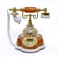 至臻创意电话机田园时尚可爱卡通仿古电话欧式家用美式复古座机