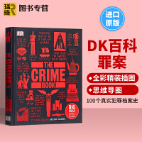 The Crime Book DK罪案百科 犯罪学百科 英文原版 Big Ideas Simply Explained