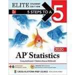 【预订】5 Steps to a 5: AP Statistics 2020 Elite Student Editio