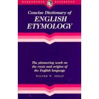 Concise Dictionry Engl Etymology(t