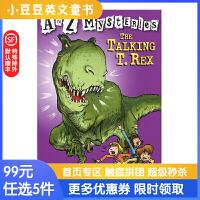 进口英文原版The Talking T. Rex A to Z 神秘案件 #20 会说话的霸王龙