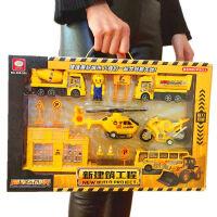 玩具车套餐 大号儿童玩具工程车 军事导弹车盒装 满月周岁生日礼物六一圣诞节新年礼品