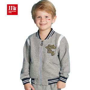 jjlkids季季乐2017年春季新款男童卫衣中小童儿童开衫外套BQW63066