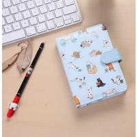 插画日记本口袋记事本可爱小号磁扣彩页本子创意小清新笔记本文具
