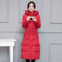 2018 新品冬季外套韩版棉衣女中长款过膝羽绒学生棉袄加厚反季性感潮流