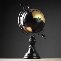 地球仪摆件办公室书房桌面老板办公桌摆设创意美式家居装饰工艺品SN8563