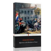 英文原版小说Reflections on the Revolution in France 法国革命论 埃德蒙柏克史学