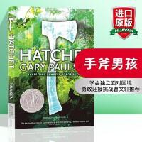 手斧男孩英文原版小说 Hatchet 短斧 纽伯瑞奖 正版进口英语书籍 全英文版 儿童绘本大奖 一个小男孩和一把手斧的