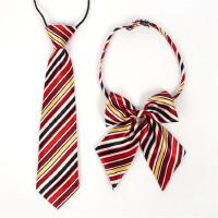 儿童小孩英伦男童女童小学生中学校服表演领花领结领带套装