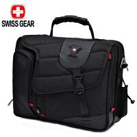 SWISSGEAR瑞士军刀电脑包 男联想惠普14英寸笔记本手提单肩包