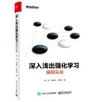 正版 深入浅出强化学习编程实战 机器学习教程人工智能计算机视觉算法核心技术深度学习框架神经网络语音识别书籍