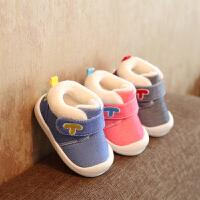 宝宝棉鞋软底学步鞋保暖婴儿鞋棉鞋