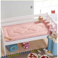冬两用儿童床垫幼儿园四午睡午托床褥子加厚海绵宝宝婴儿垫被