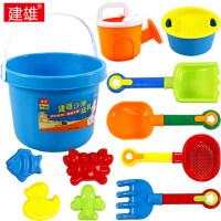 儿童沙滩玩具 桶套装组合宝宝玩沙挖沙大号铲子戏水洗澡工具