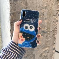 情侣卡通iPhone7plus/8手机壳6s贝壳苹果XSMAX软壳保护套XR可爱女