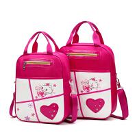 包邮补习袋小学生男女儿童美术袋帆布手提袋补习袋手提包补课包斜跨包