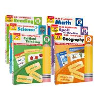 Evan-Moor Skill Sharpeners Pre K 美国加州小学儿童 幼儿英语启蒙技能铅笔刀 Geogr