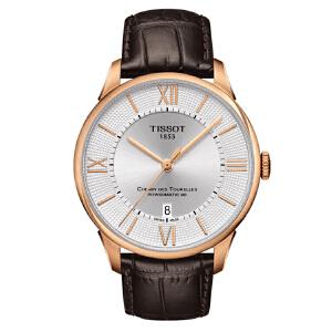 天梭TISSOT-杜鲁尔系列 T099.407.36.038.00 机械男士手表【好礼万表 礼品卡可购】