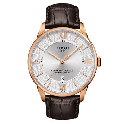 天梭TISSOT-杜鲁尔系列 T099.407.36.038.00 机械男士手表【好礼万表 礼品卡可购】下单后16:45前支付,1-3个工作日到达