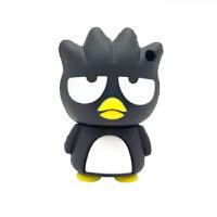 个性黑酷企鹅女生萌U盘8G 可爱多摩君 小猪 XO仔卡通创意车载优盘送朋友送爱人礼物