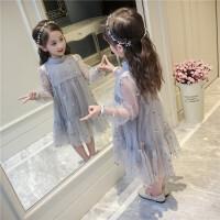 20180610173442292女童春装连衣裙2018新款儿童装夏季刺绣裙子韩版中大童洋气公主裙