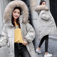 冬季加厚棉袄棉衣女2018冬装新款中长款外套过膝羽绒韩版女装