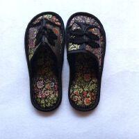 拖鞋居家木地板拖鞋复古中国风商务礼品防滑鞋底