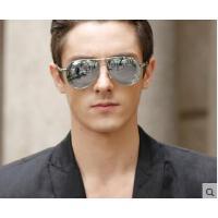 时尚气质大方防晒眼镜开车复古墨镜蛤蟆镜偏光太阳镜男士太阳眼镜
