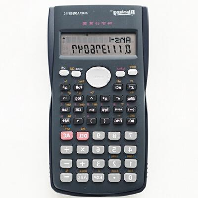 晨光 电子计算器12位函数计算机 学生考试专用多功能 ADG98110