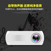 投影仪新款家用LED迷你便携微型投影机1080P高清 有内置电池版可选