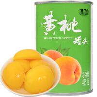 [当当自营] 味品堂 水果罐头 黄桃罐头 425g