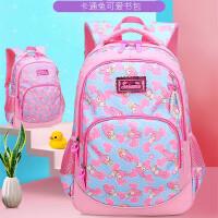 韩版小学生书包女童1-3-5女孩公主儿童4-6年级校园6-12岁双肩背包