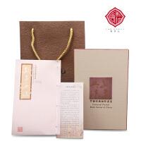 孙子兵法中国风丝绸书邮票册特色文化创意实用商务礼品盒送老外