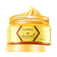 莱玫 牛奶蜂蜜手蜡手膜110g 保湿嫩白去死皮护手霜去角质滋养嫩滑