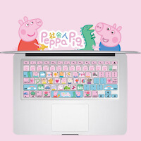 MacBook Pro air�I�P膜硅�z13寸保�o膜12�O果�P�本��X卡通