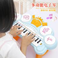 益智电子琴 儿童启蒙早教音乐琴 女孩卡通乐器电动小钢琴玩具