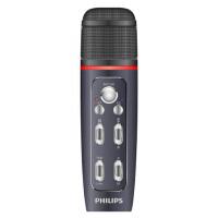 PHILIPS飞利浦VTR5160 高品质多功能语音麦克风 K歌 录音笔 语音转文本 全民K歌多功能语音手机麦克风 一