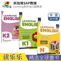 SAP Learning English Collection N-K2 新加坡小学英语教辅 学习系列幼儿园练习册 新