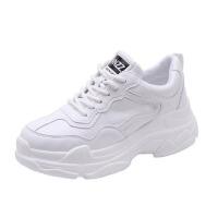 老爹鞋 女士百搭增高休闲鞋春季新款韩版时尚女式厚底小白鞋学生舒适百搭运动鞋