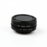 sjcam SJ8滤镜UV镜 SJ7 CPL偏振镜山狗sj6保护镜头盖运动相机配件 40.5mm