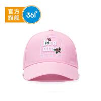 【保暖价:39.5】361度童装 女童鸭舌帽 中大童 2019年秋季新品K11932207