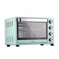 美的(Midea)多功能�烤箱 �C械式操控 上下��立控�� ��I烘焙易操作烘烤蛋糕面包 PT35A0