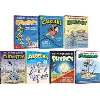 爆笑科学漫画4册 漫画统计学入门 微积分 化学 物理 英文原版 TCartoon Guide to Statistics/Calculus/ Chemistry/Physics