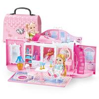 仿真洋娃娃女孩萌宝芭比玩具公主屋套装梦想礼盒豪宅别墅房子