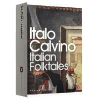 正版现货 卡尔维诺意大利童话 英文原版书 Italian Folk Tales 英文版进口英语文学书籍 可搭格林童话